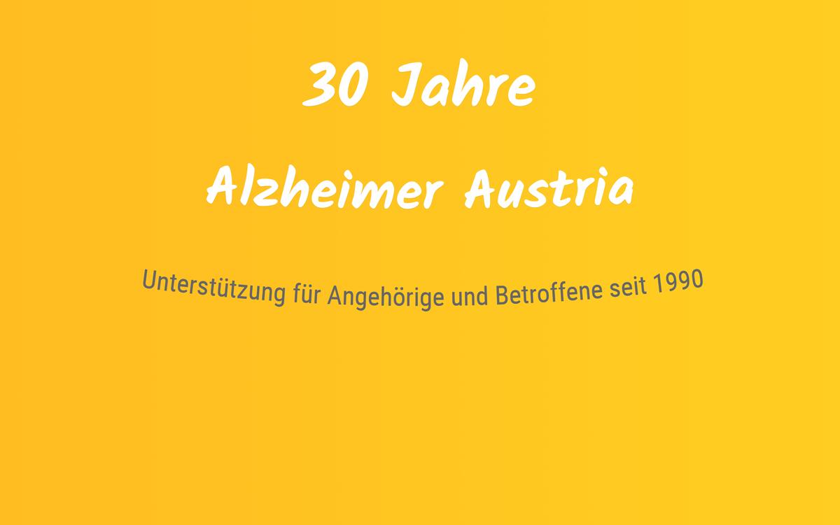 30-Jahre-Alzheimer-Austria